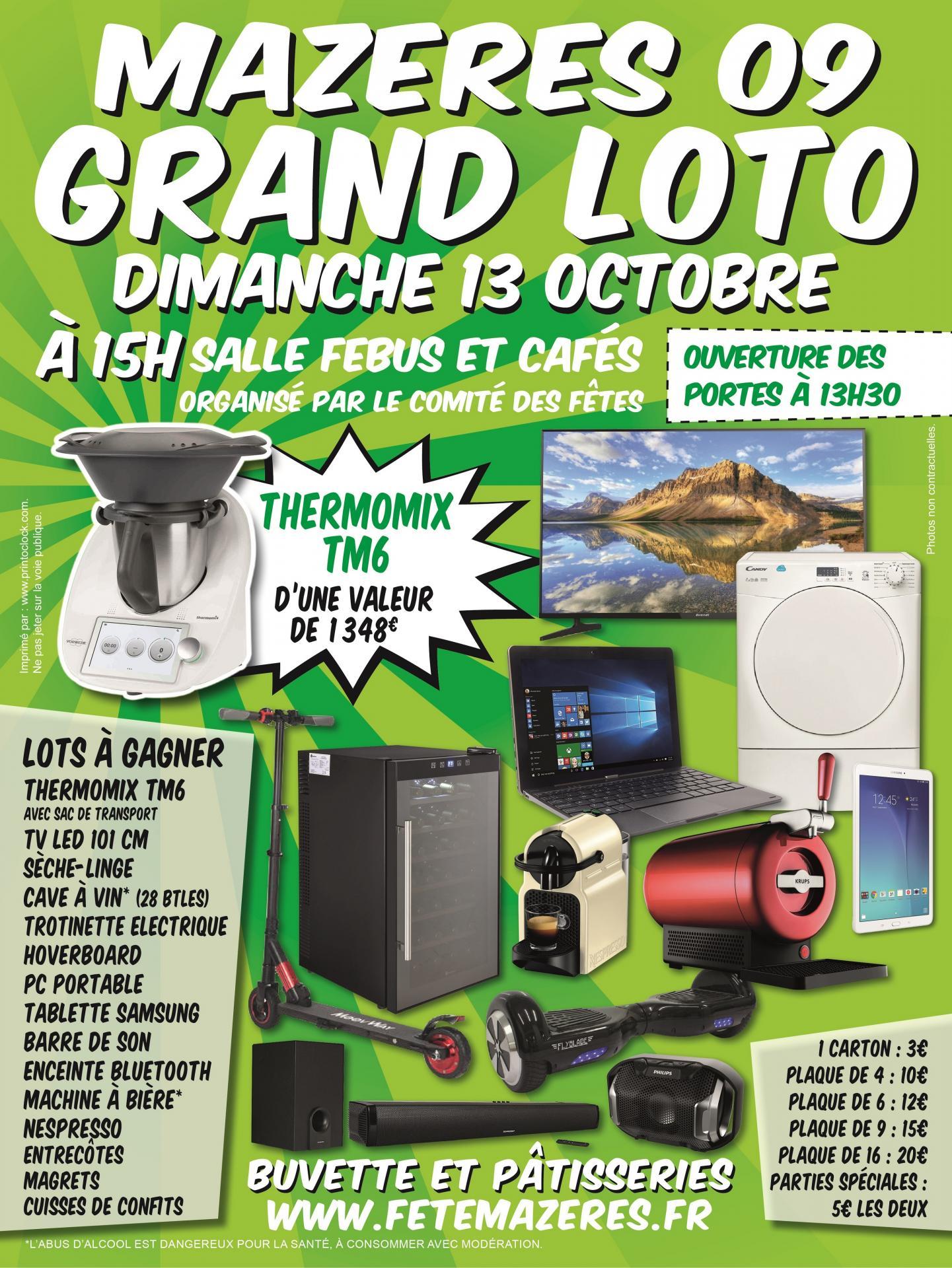 Affiche a3 cdf mazeres loto 13 octobre web